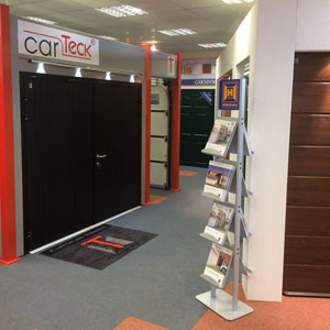 Cherwell Doors showroom